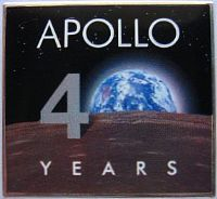 Official Apollo 40th Anniversary Pin